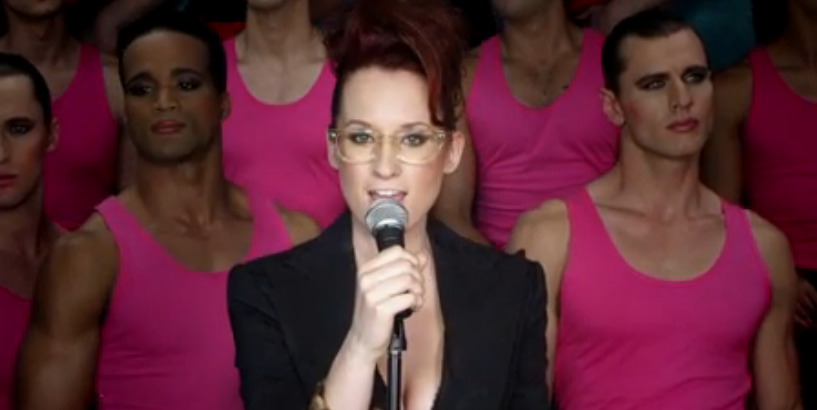 "Watch Ingrid Michaelson's totally gender bend-y ""Girls Chase Boys"" video"