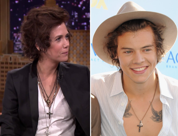 Kristen Wiig, Harry Styles